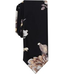 inc men's stetson slim floral tie, created for macy's