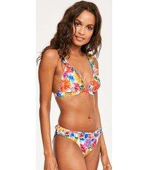 margarita frill triangle soft bikini top