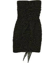 philosophy polka-dot tulle dress