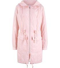giubbotto outdoor leggero con cappuccio (rosa) - bpc bonprix collection
