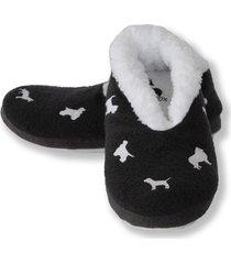 pantuflas cerradas gris perritos