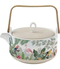dzbanek porcelanowy do herbaty jungle