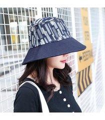 2019 verano denim bucket sombreros mujeres sombrero para el sol sombrero
