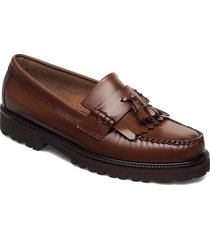gh weejun 90 layton ii kiltie loafers låga skor brun g.h. bass