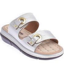 priceshoes sandalia confort dama 6923833-101plata