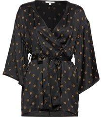alanis kimonos zwart dagmar