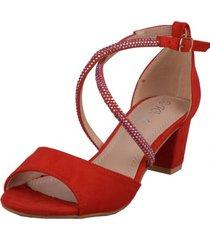 zapato formal leandre rojo weide
