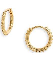 women's gorjana bali huggie hoop earrings
