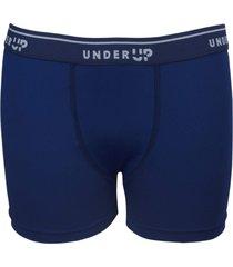 cueca under up boxer hi-tech basics kids marinho - azul marinho - menino - poliamida - dafiti
