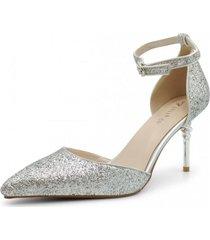 zapato de fiesta ibiza plata toffy co.