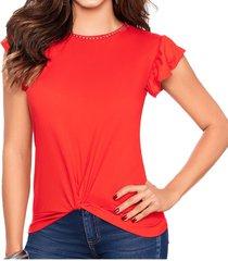 blusa angelik rojo croydon