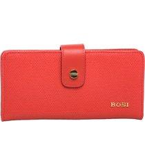 billetera cadiz1 rojo bosi