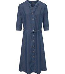 jurk met 3/4-mouwen van basler blauw