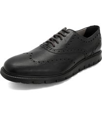 zapato formal negro colore