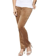 pantalon hadda café claro para mujer croydon