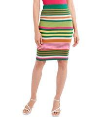 bcbgeneration striped knit skirt