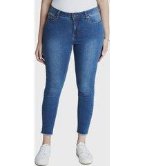 jeans pitillo azul curvi