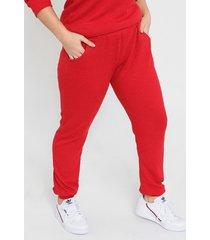 pantalón rojo minari lanilla morley