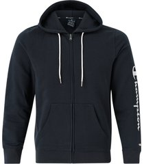 huvtröja hooded full zip sweatshirt