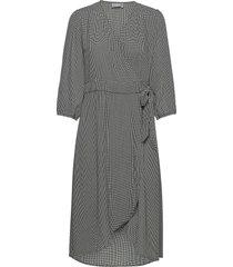 bxilli wrap dress dresses wrap dresses grå b.young