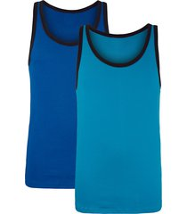 hemden per 2 g gregory blauw::turquoise