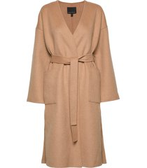 j double face drop shoulder wrap coat yllerock rock banana republic