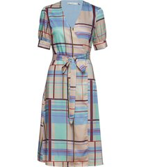 ambina dress ms19 jurk knielengte multi/patroon gestuz