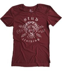 camiseta longline stoned gold call of wind masculina
