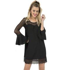 vestido negro florencia casarsa lois