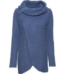 maglione con bottoni (blu) - bodyflirt boutique