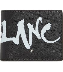 men's montblanc sartorial leather wallet -
