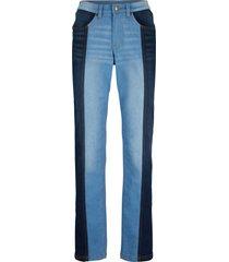 jeans in cotone elasticizzato con cinta comoda straight (nero) - bpc bonprix collection