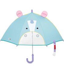 guarda chuva unicornio skip hop azul