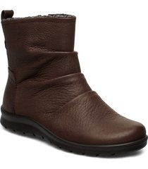 babett boot shoes boots ankle boots ankle boots flat heel brun ecco