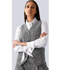 blazer alba moda grijs
