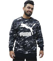 buzo classics logo crew puma