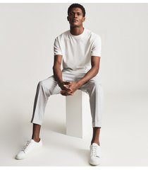 reiss alistair - cotton oversized t-shirt in off white, mens, size xxl