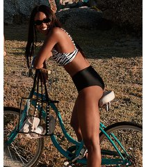 hunkemöller amalfi rio-bikiniunderdel vivian hoorn svart