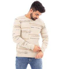 blusão de malha sumaré 10442 bege