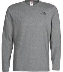 t-shirt lange mouw the north face l/s easy tee
