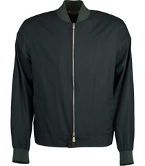 emerald loro pianna bomber jacket