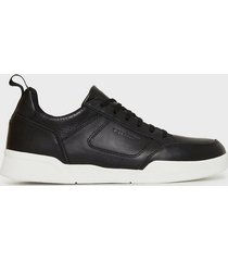 lyle & scott gilzean sneakers true black