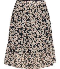slaldora skirt kort kjol multi/mönstrad soaked in luxury
