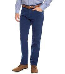 pantalon azul claro preppy 5 bolsillos  98%alg 2%elastano bota 19