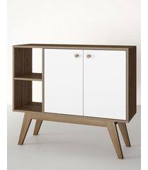 aparador buffet/bar bora branco estilare móveis