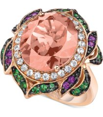 le vian crazy collection multi-gemstone statement ring (6-1/4 ct. t.w.) in 14k rose gold