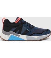 zapatilla s brentha wl sneakers azul diesel