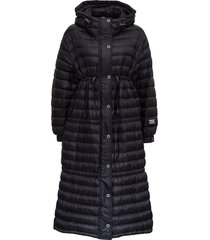 burberry tenby long puffer jacket