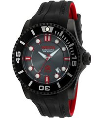reloj invicta 20205 negro rojo silicona