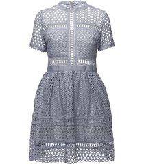 emily dress kort klänning blå by malina